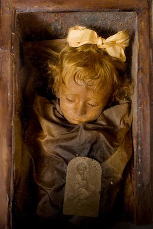 """Se conserva en Palermo, donde la llaman """"La Bella Durmiente"""""""