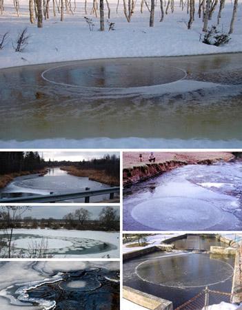 Estos circulso de hielo se estan haciendo famosos gracias a Internet