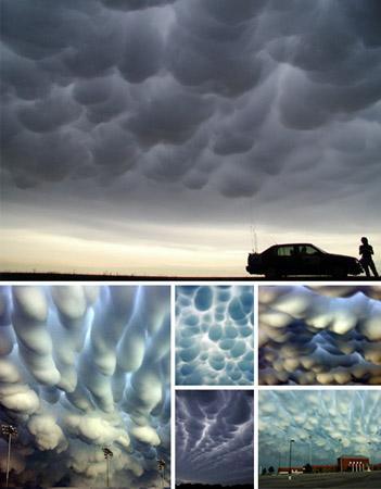 Su aparición es pronóstico de grandes tormentas