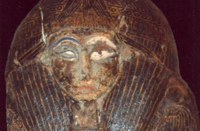 Otro detalle de uno de los cuatro sarcófagos
