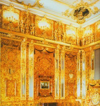 "La Cámara de Ámbar fue considera la ""octava maravilla del mundo"""