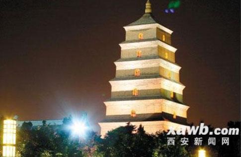 Los objetos sobre la págoda en China