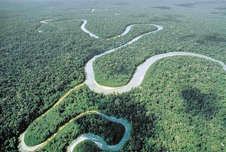 Amazonas meandroak