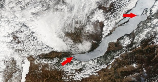 El nuevo círculo en la zona sur pone en duda la teoria de las columnas hidrotermales