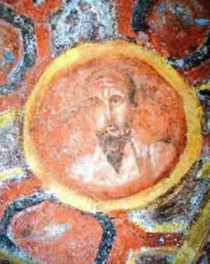 El fresco podría ser el retrato más antigüo de San Pablo