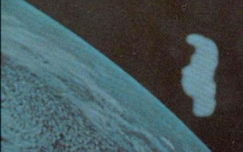 Apolo XI, 1969 - Esta anomalía obtenida por Neil Armstrong de la tripulación del Apollo XI nunca ha sido claramente identificada y explicada