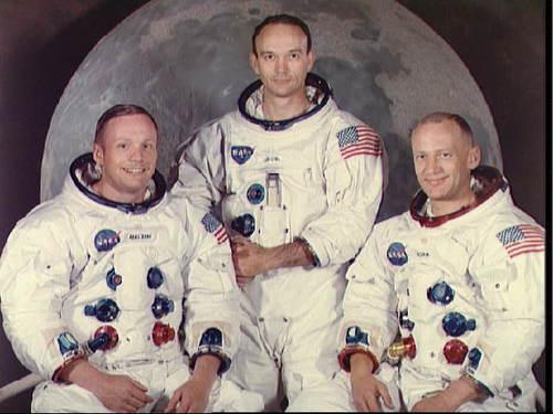 Los astronautas del Apollo 11