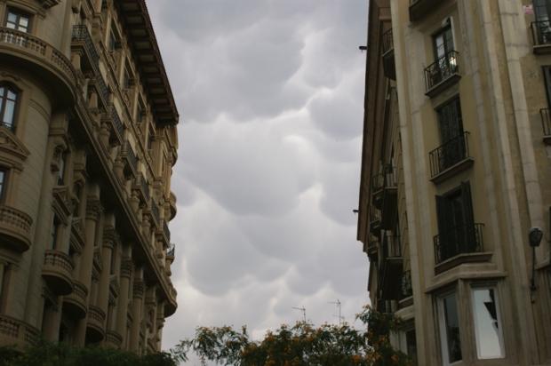 La imagen se tomó a las 20h del pasado 25 de Junio Foto: Susana Palomares