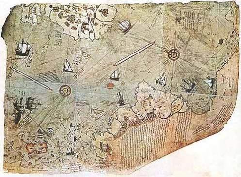 El polémico mapa de Piri Reis