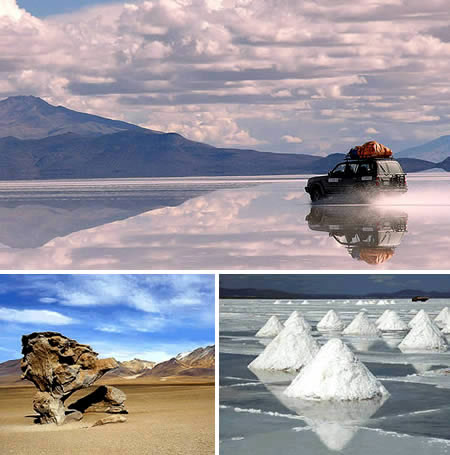 El desierto de sal