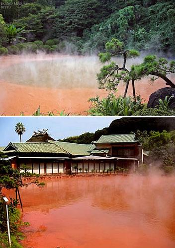 Baños Termales Japon:Los 10 lugares de aspecto más insólito de planeta