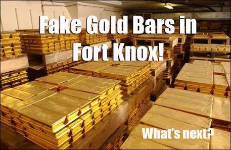 Desde 2009 existen decenas de articulos que ponen en duda que oro de Fort Knox sea real