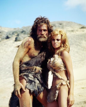 still-of-raquel-welch-and-john-richardson-in-one-million-years-bc-large-picture-bc-437198021